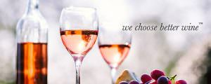 We Choose Better Wine Rose Image