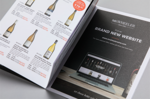 Mr.Wheeler Wine Brochure